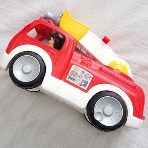 Little People Lift and Lower Fire Truck